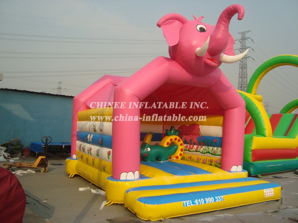 T2-398 inflatable bouncer