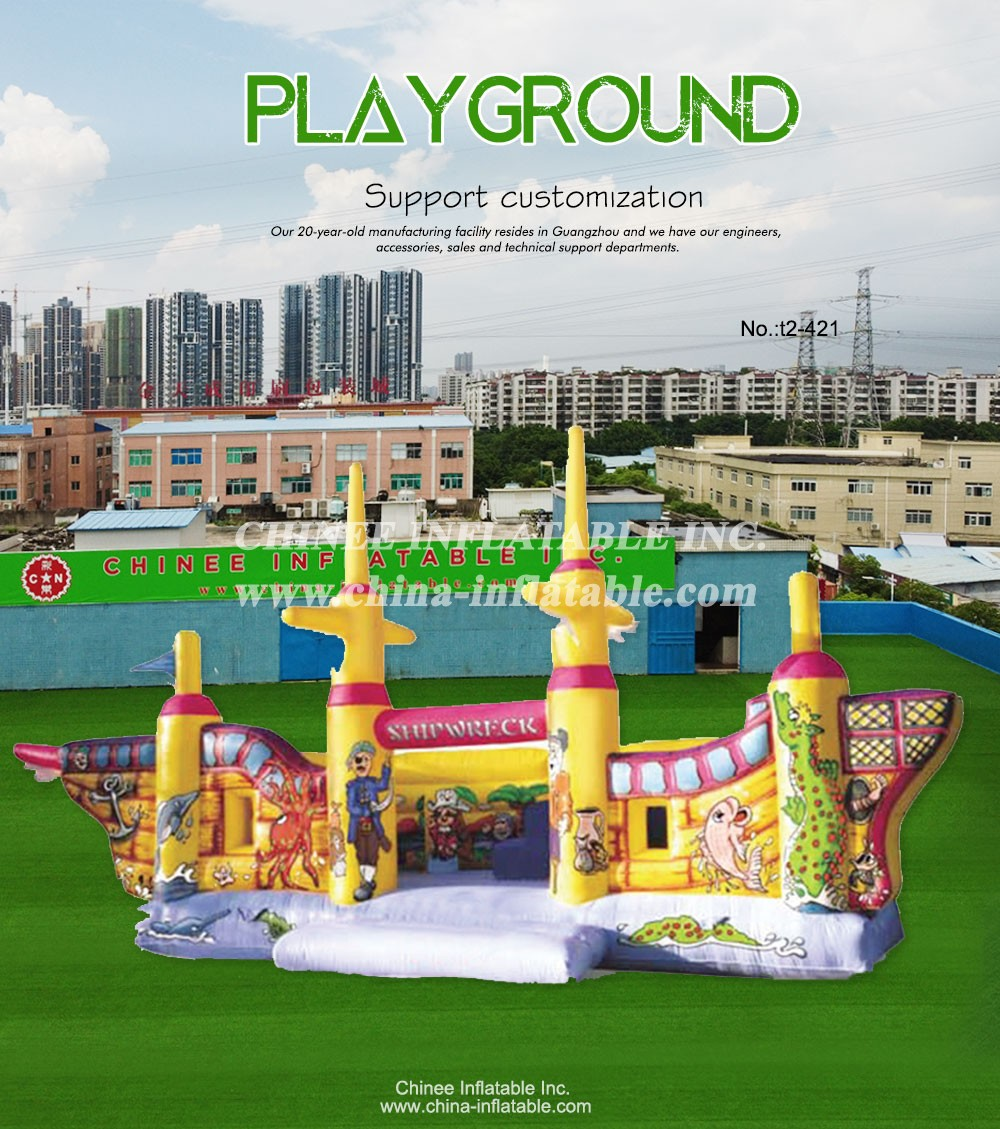 T2-421 inflatable bouncer