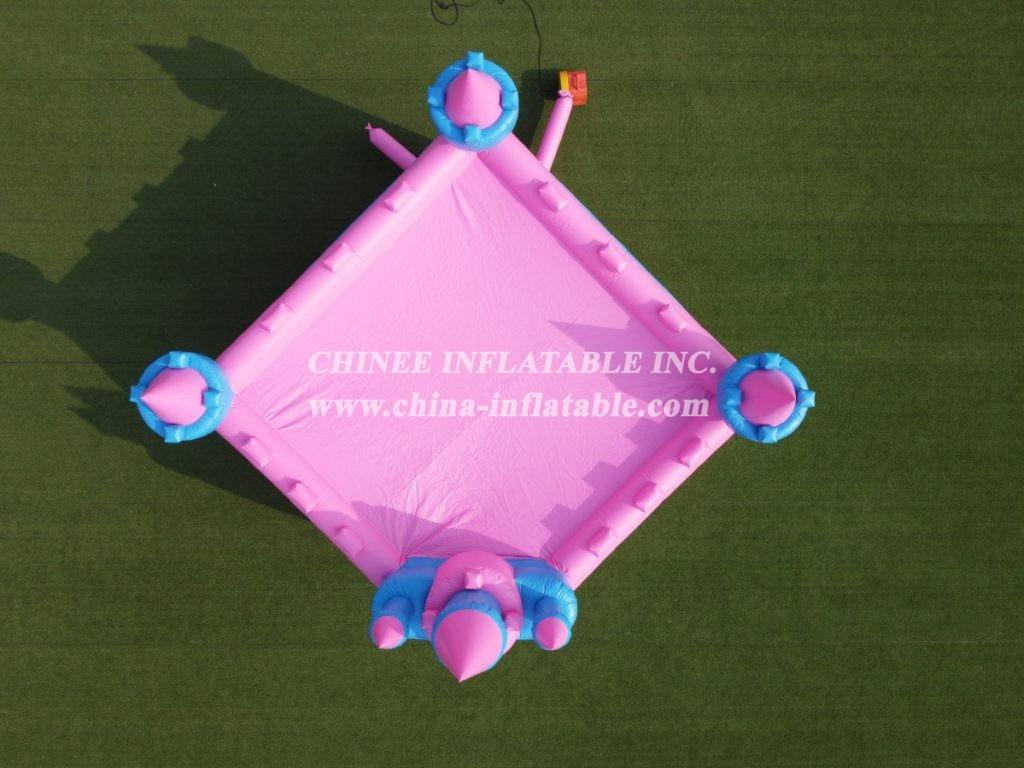 T2-453 inflatable princess castle  party Bounce House