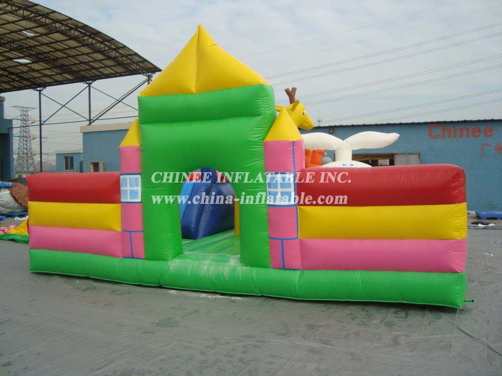T2-490 Inflatable Bouncers