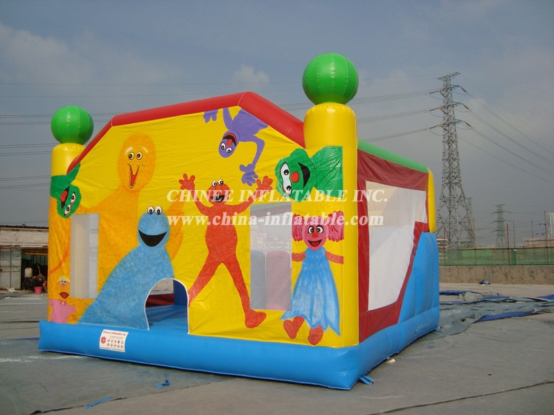 T2-542 inflatable bouncer