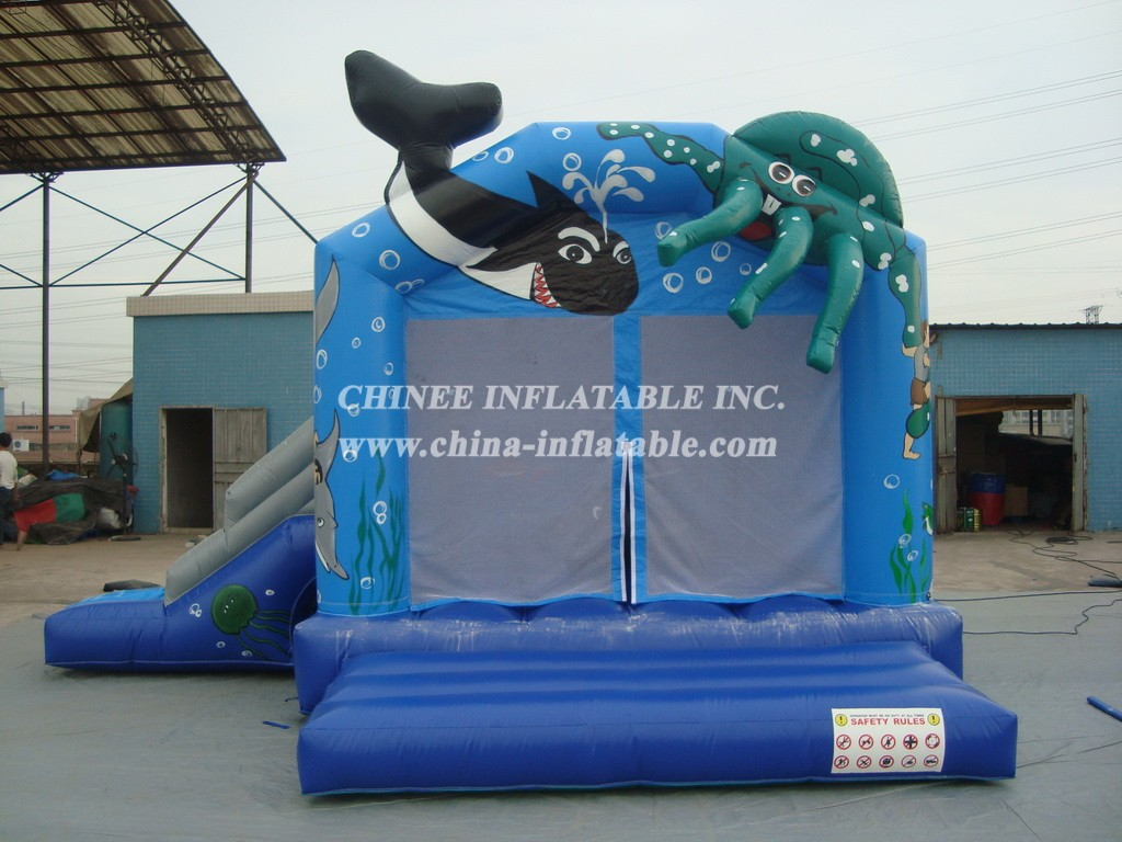 T2-594 inflatable bouncer