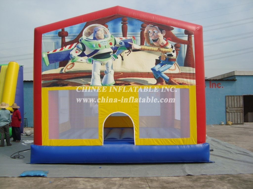 T2-627 inflatable bouncer