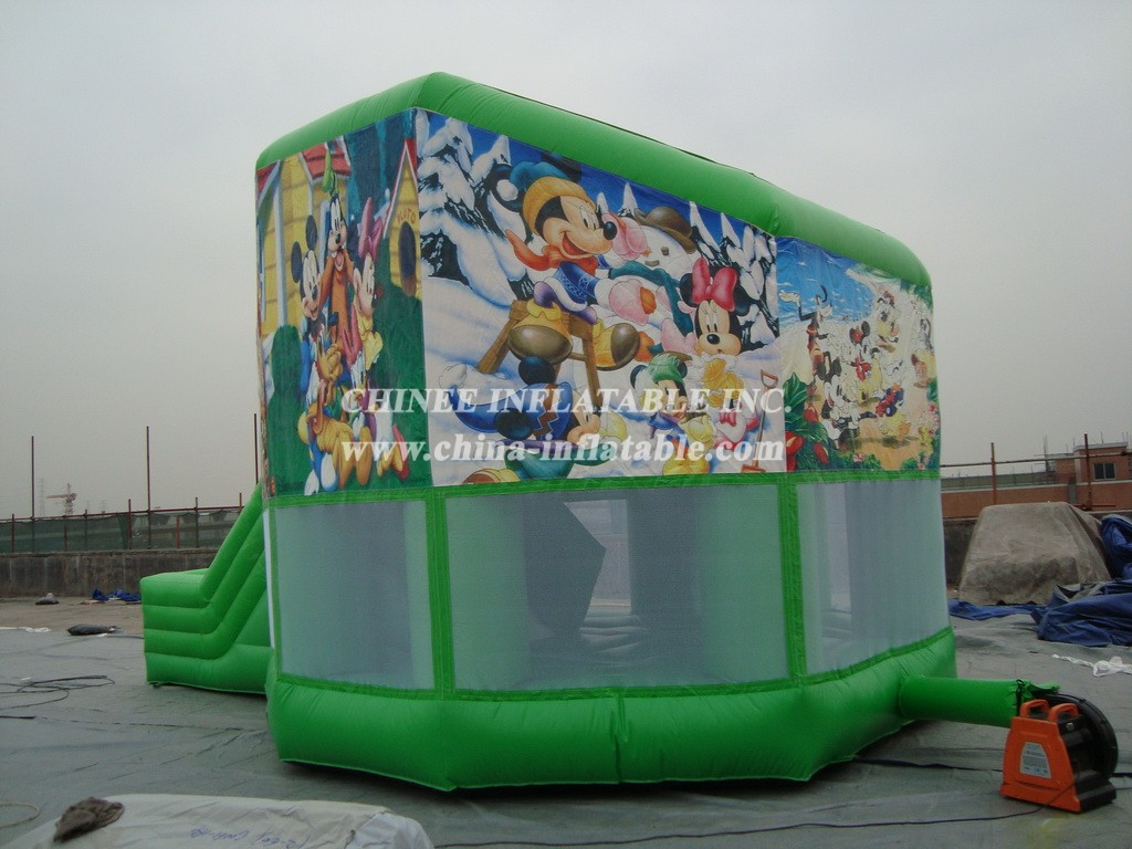 T2-654 Inflatable Bouncers