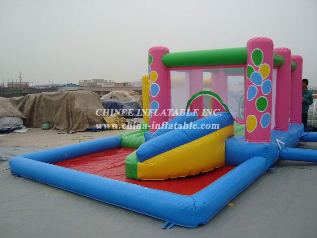 T2-663 inflatable bouncer