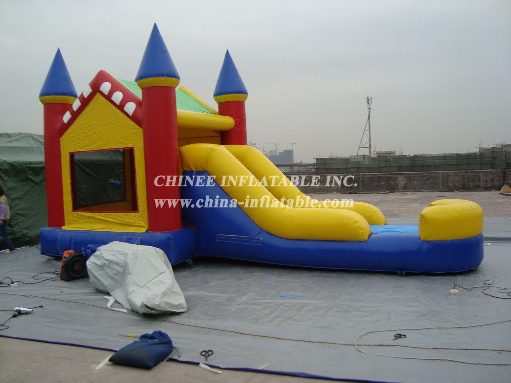 T2-863 inflatable bouncer