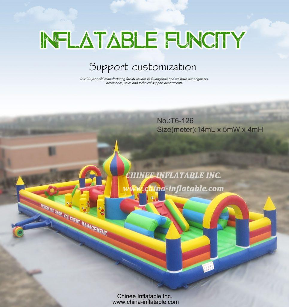 T6-126 - Chinee Inflatable Inc.