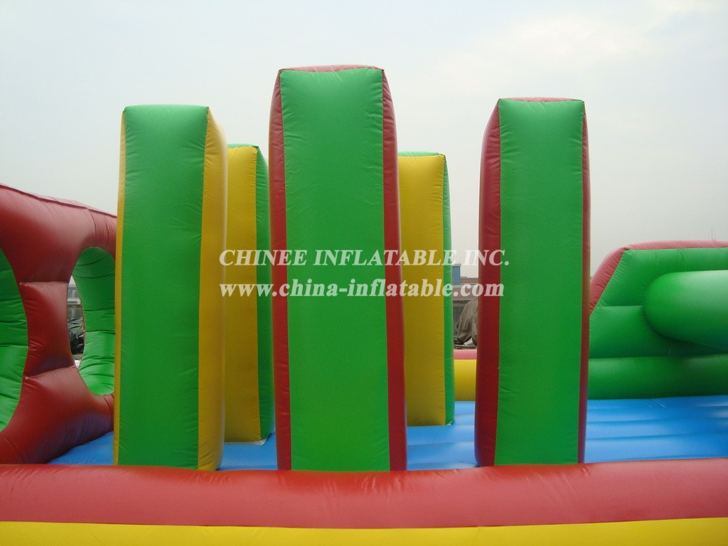 T7-125 inflatable obstacle