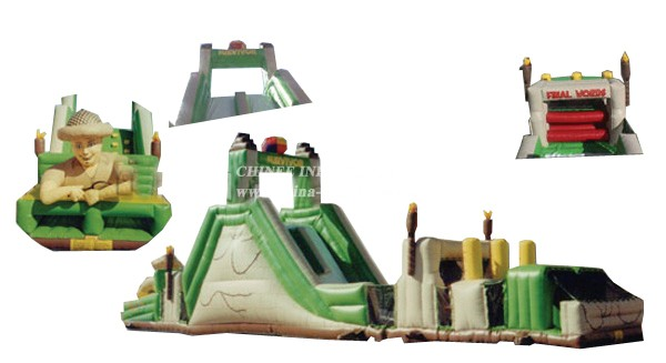 T7-173 Inflatable Obstacles Courses