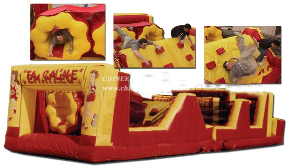 T7-174 Inflatable Obstacles Course