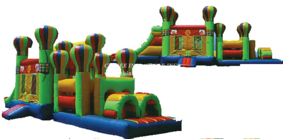 T7-175 Inflatable Obstacles Courses