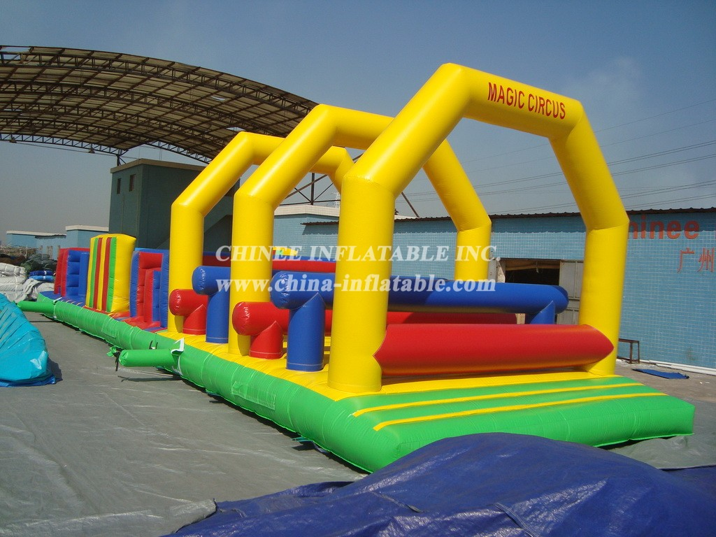 T7-477 Inflatable Obstacles Courses