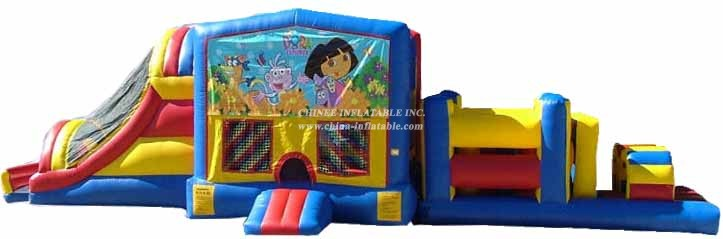 T7-254 Inflatable Obstacles Courses