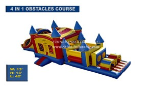 T7-274 Inflatable Obstacles Courses