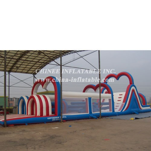 T7-420 Inflatable Obstacles Courses