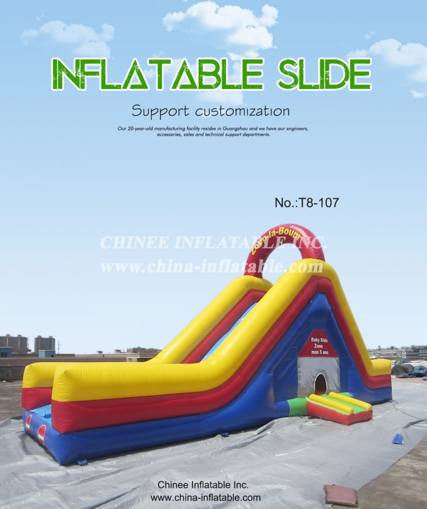 T8-107 - Chinee Inflatable Inc.