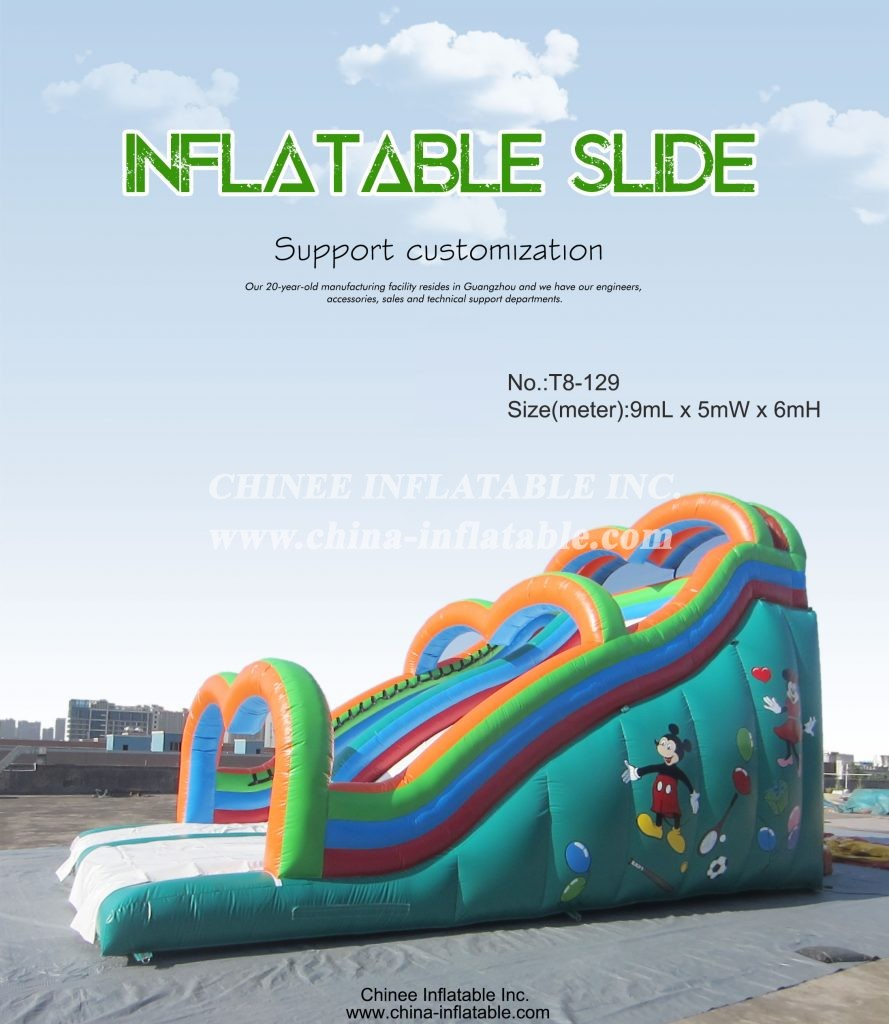 T8-129 - Chinee Inflatable Inc.