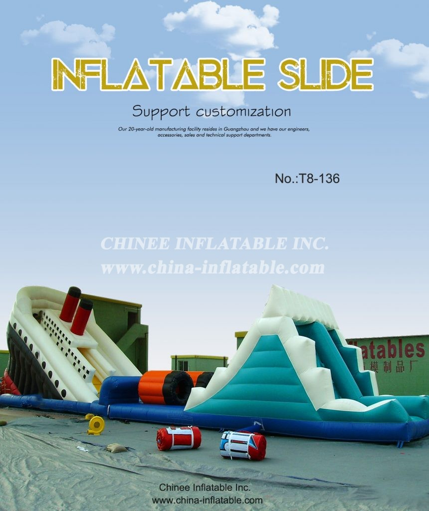 T8-136 - Chinee Inflatable Inc.