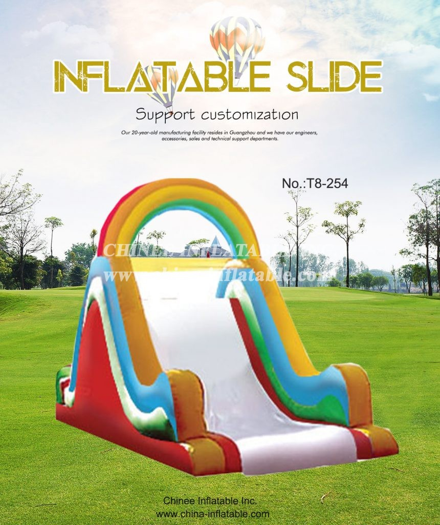 T8-254 - Chinee Inflatable Inc.