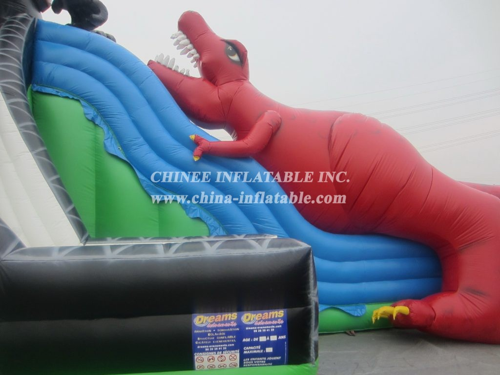 T8-376 Inflatable Slide