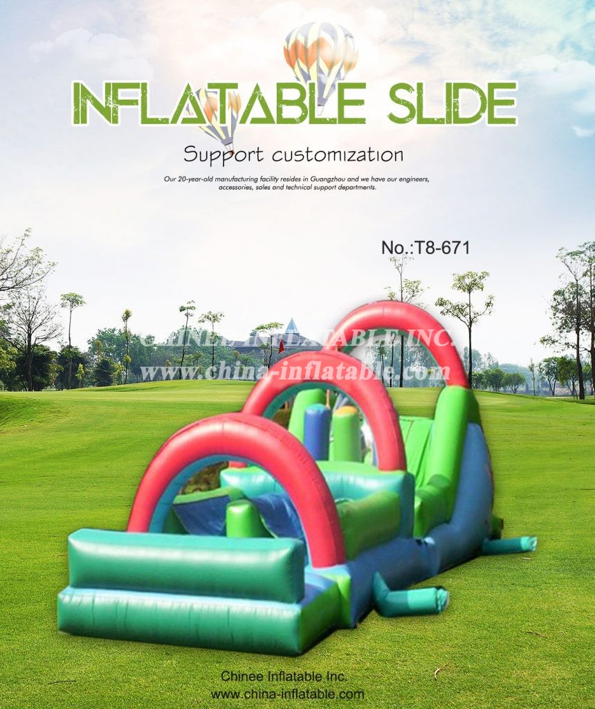 T8-671 - Chinee Inflatable Inc.