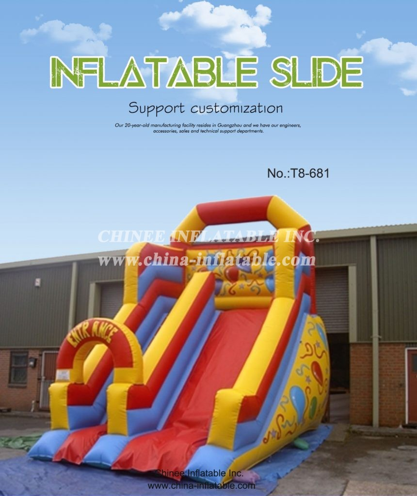 T8-681 - Chinee Inflatable Inc.