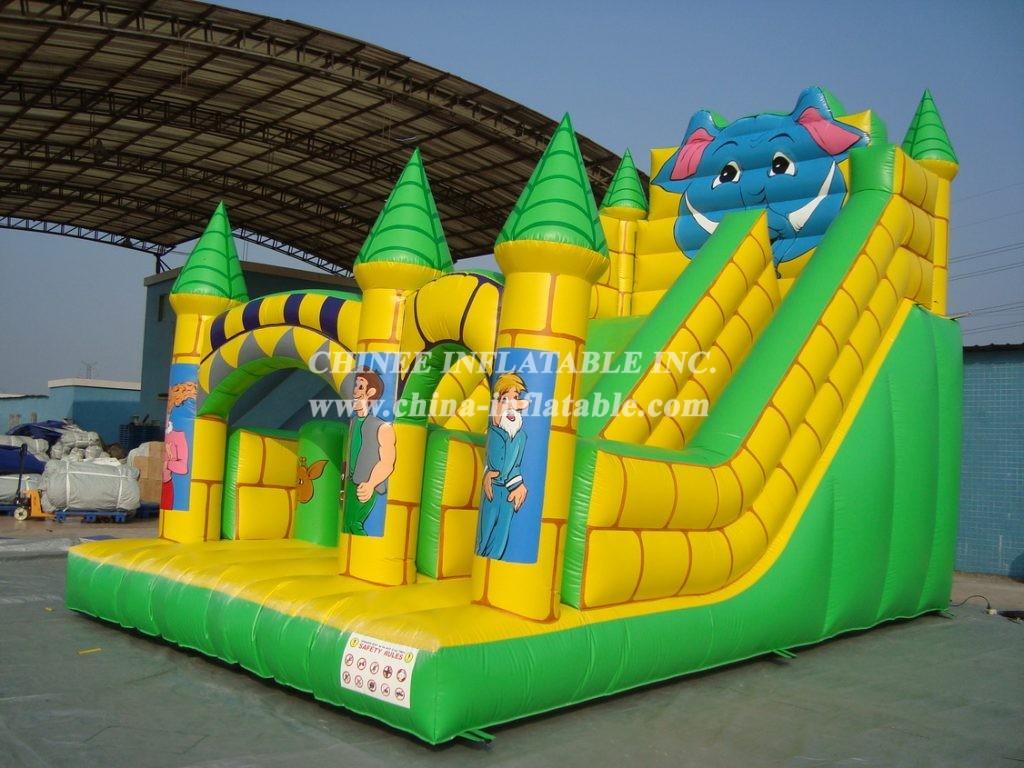 T8-694   Inflatable Slides