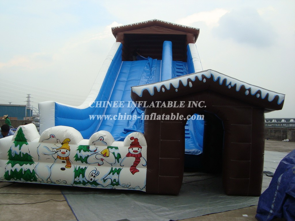 T8-721 Inflatable Slide