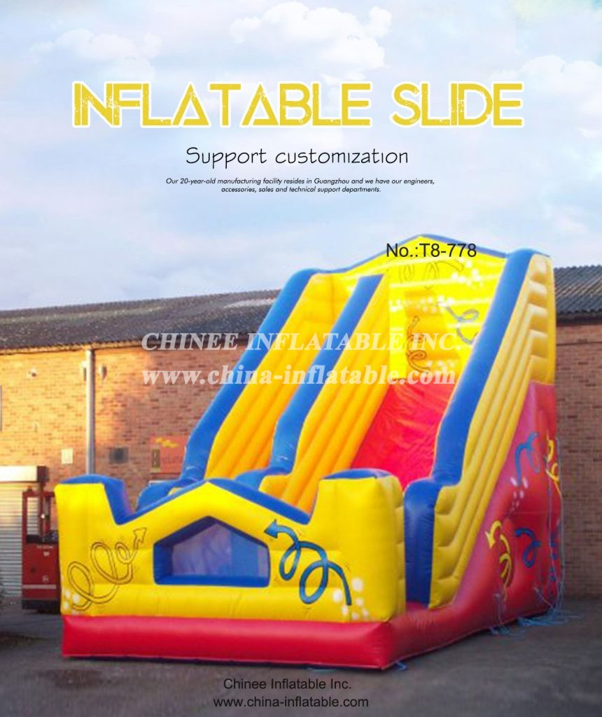 T8- 778 - Chinee Inflatable Inc.