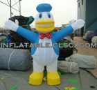 M1-200 inflatable moving cartoon