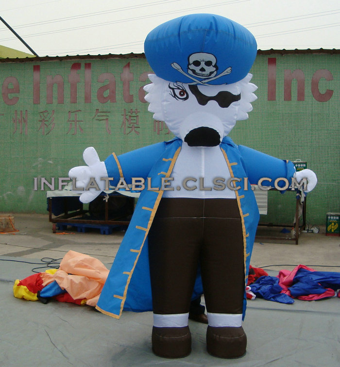 M1-202 inflatable moving cartoon