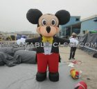 M1-204 inflatable moving cartoon