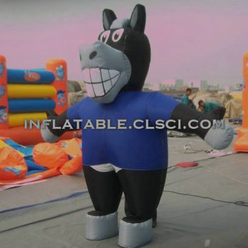 M1-205 inflatable moving cartoon