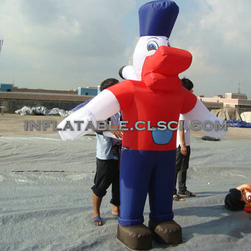 M1-206 inflatable moving cartoon