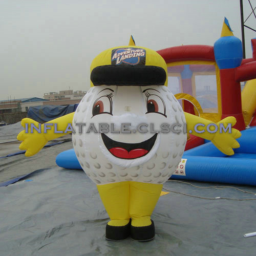 M1-210 inflatable moving cartoon