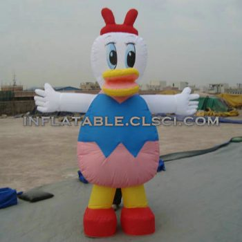 M1-214 inflatable moving cartoon