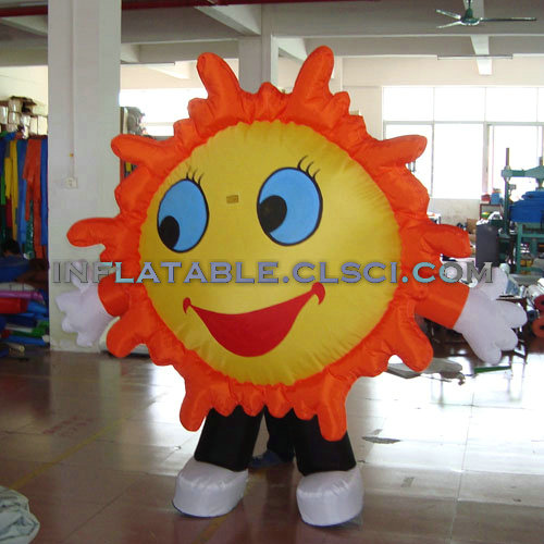 M1-236 inflatable moving cartoon