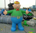 M1-237 inflatable moving cartoon