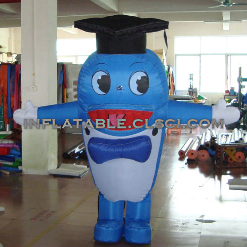 M1-241 inflatable moving cartoon