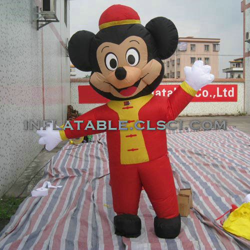 M1-243 inflatable moving cartoon