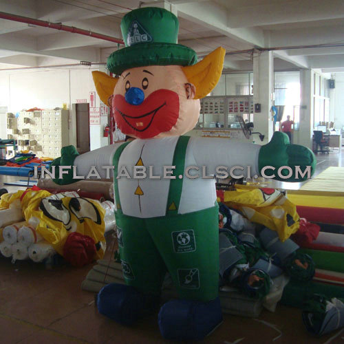 M1-245 inflatable moving cartoon