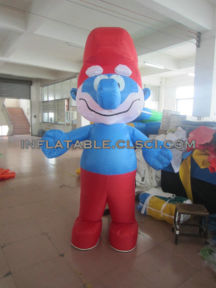 M1-247  inflatable moving cartoon