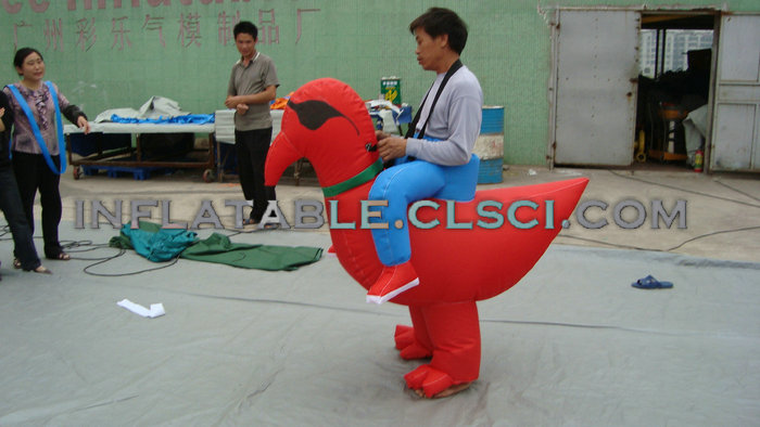 M1-252 inflatable moving cartoon