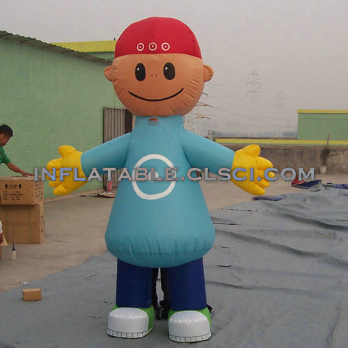 M1-254 inflatable moving cartoon