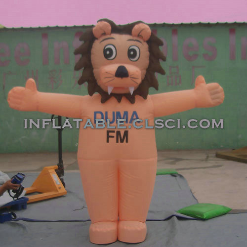 M1-255 inflatable moving cartoon