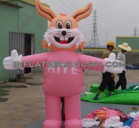 M1-256 inflatable moving cartoon