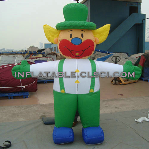 M1-266 inflatable moving cartoon