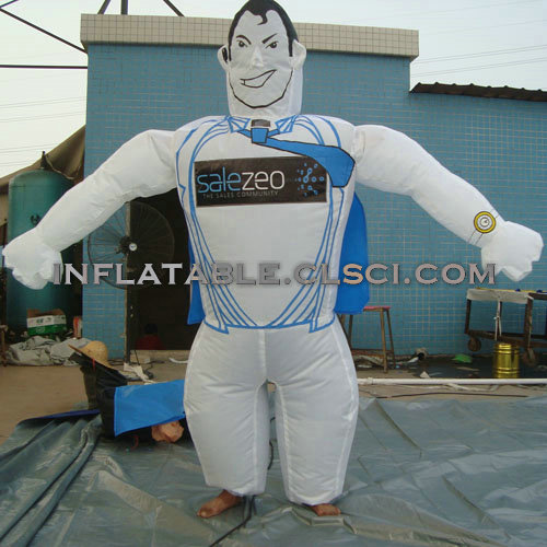M1-267 inflatable moving cartoon