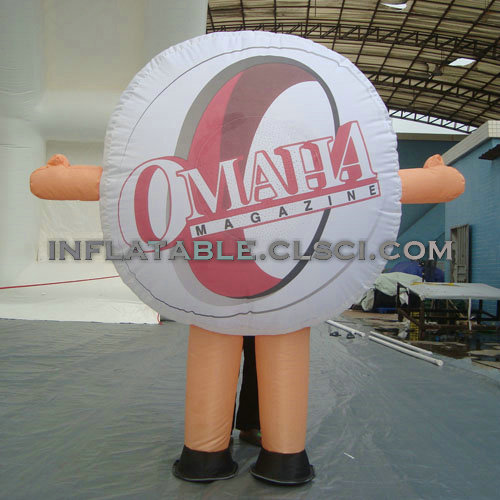 M1-273 inflatable moving cartoon