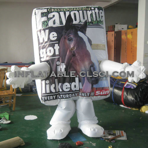 M1-278 inflatable moving cartoon